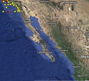 Inset Gulf of California